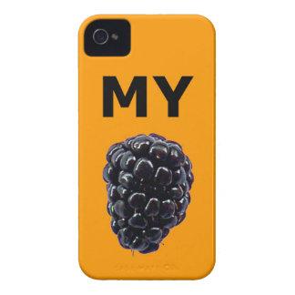 Mi caja de la casamata de Blackberry iPhone 4 Case-Mate Carcasa