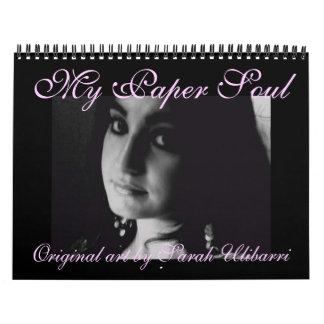 Mi calendario de papel del alma