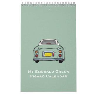 Mi calendario del coche de Figaro del verde