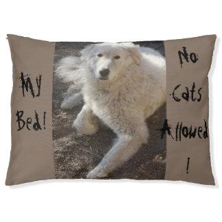 ¡Mi cama! ¡Ningunos gatos permitidos! Cama Para Perro Grande
