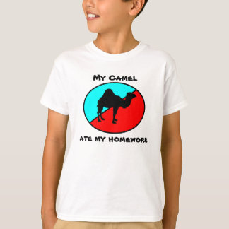 Mi camello comió mi preparación playera