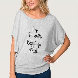 Mi camisa preferida de las polainas
