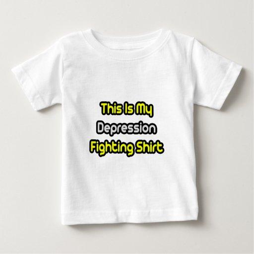 Mi camisa que lucha de la depresión