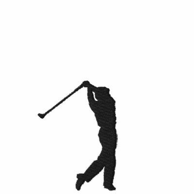 Mi camiseta bordada golf del deporte
