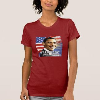 Mi camiseta de presidente Barack Obama (bandera)