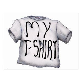 Mi camiseta postal