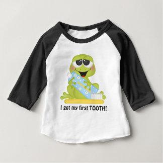 Mi camiseta unisex del bebé del primer diente