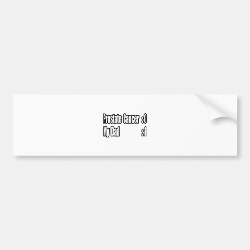 Mi cáncer de próstata del golpe del papá (marcador etiqueta de parachoque