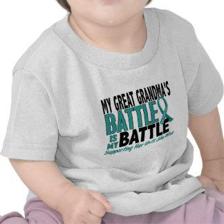 Mi cáncer ovárico de la abuela demasiado grande de camiseta