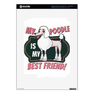 Mi caniche es mi mejor amigo pegatina skin para iPad 3
