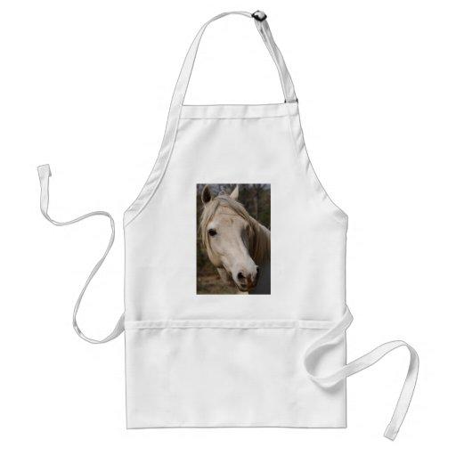 Mi cara del caballo delantales
