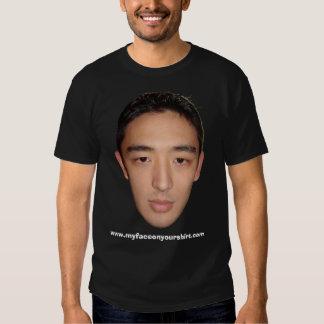 Mi cara en su camisa