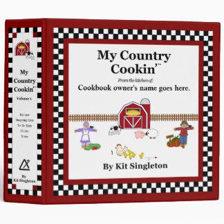 Mi carpeta básica del libro de cocina de Cookin de