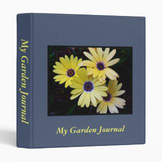 Mi carpeta del diario del jardín