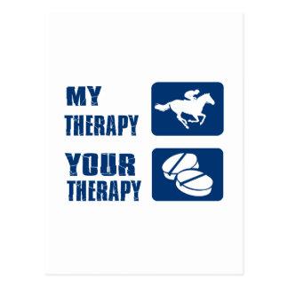 Mi carrera de caballos su terapia postal