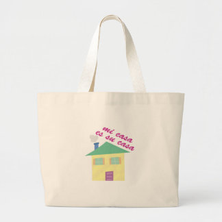 Mi Casa Jumbo Tote Bag