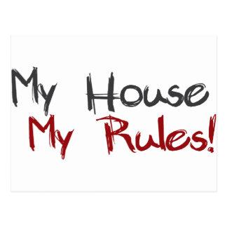 Mi casa mis reglas postal
