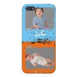 Mi caso del iPhone 4 de la foto de los niños iPhone 5 Coberturas