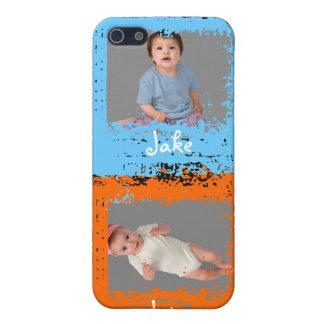 Mi caso del iPhone 4 de la foto de los niños iPhone 5 Funda