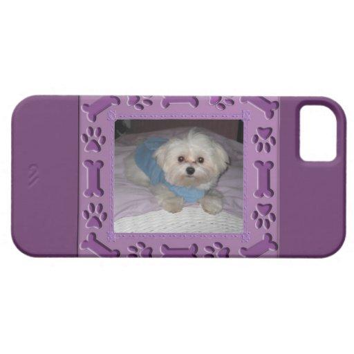 Mi caso del iPhone 5 del perrito iPhone 5 Case-Mate Protectores