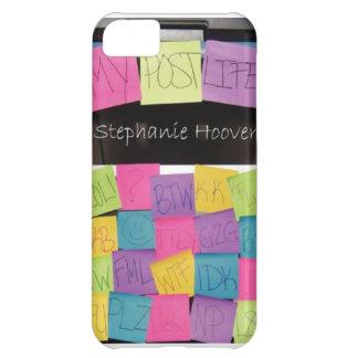 Mi caso del iPhone 5s de la vida del poste Funda Para iPhone 5C