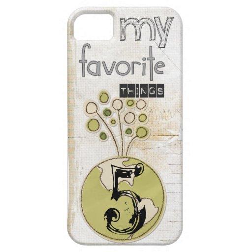 mi caso preferido del iphone 5 de las cosas iPhone 5 Case-Mate cobertura