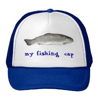 mi casquillo de la pesca gorra