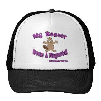 Mi castor quiere a un amigo gorra