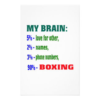 Mi cerebro el 90% que encajona papeleria personalizada