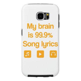 Mi cerebro es 99,9% letras de la canción fundas samsung galaxy s6