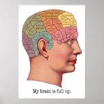 Mi cerebro es ascendente lleno impresiones