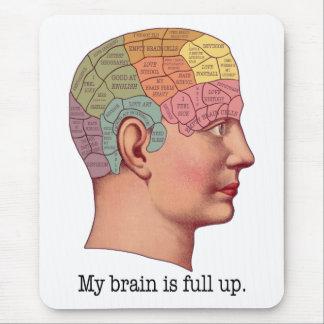 Mi cerebro es ascendente lleno tapetes de raton