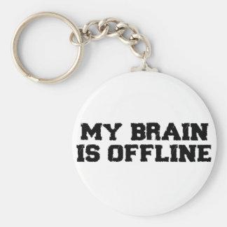 Mi cerebro es llavero fuera de línea