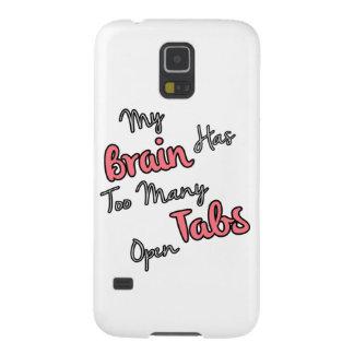 Mi cerebro tiene demasiadas etiquetas abiertas - carcasas de galaxy s5