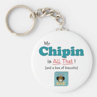 ¡Mi Chipin es todo el eso! Llavero Redondo Tipo Pin