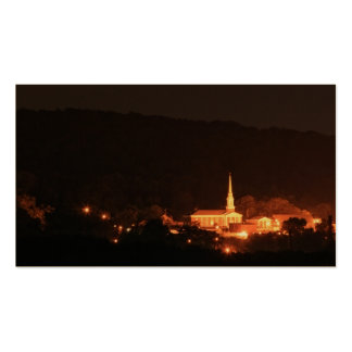 Mi ciudad natal tarjetas de visita