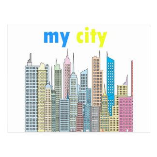 Mi ciudad postales