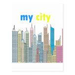 Mi ciudad tarjeta postal