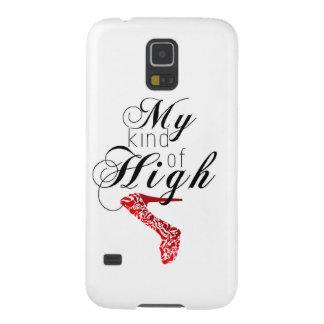 Mi clase de alto… Talón Funda De Galaxy S5