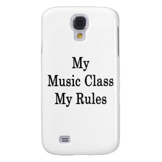 Mi clase de música mis reglas