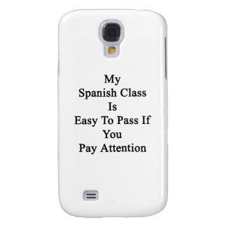 Mi clase española es fácil de pasar si usted paga funda para galaxy s4