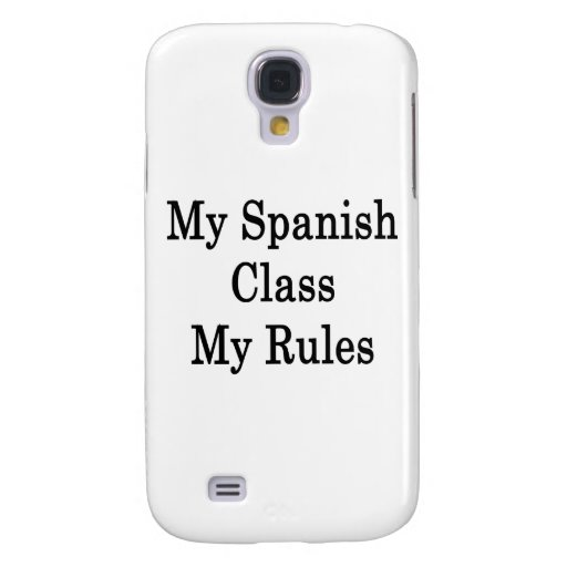 Mi clase española mis reglas