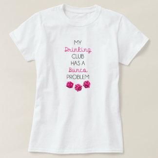 Mi club de consumición tiene una camiseta playeras