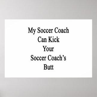 Mi coche del fútbol puede golpear el extremo de su póster