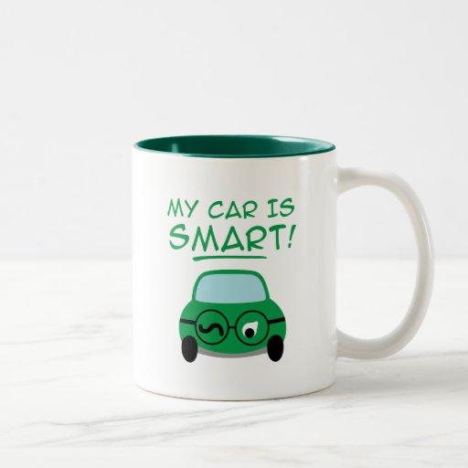 Mi coche es elegante taza