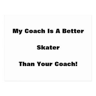 ¡Mi coche es mejor patinador que su coche! Postales