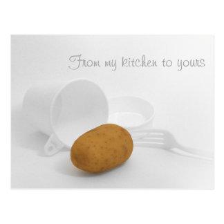 Mi cocina el suyo - patata postales