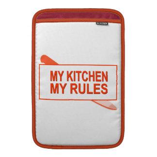 Mi cocina. Mis reglas. Diseño de la diversión para Funda Macbook Air