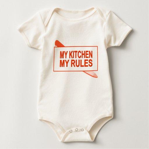 Mi cocina. Mis reglas. Diseño de la diversión para Mameluco De Bebé