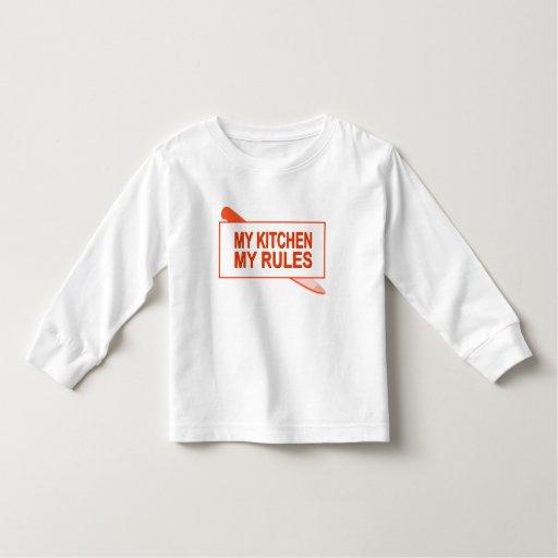 Mi cocina. Mis reglas. Diseño de la diversión para Playera De Bebé
